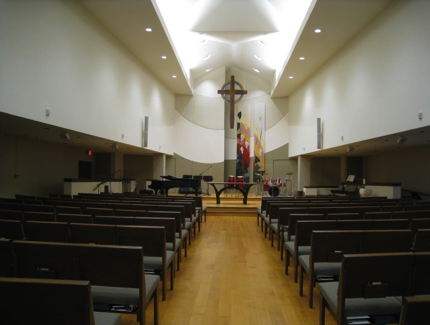 View toward Chancel